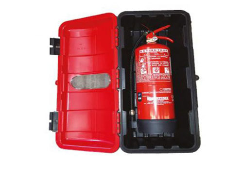 A450164E Conjunto porta extintor A450164   extintor 6 kg