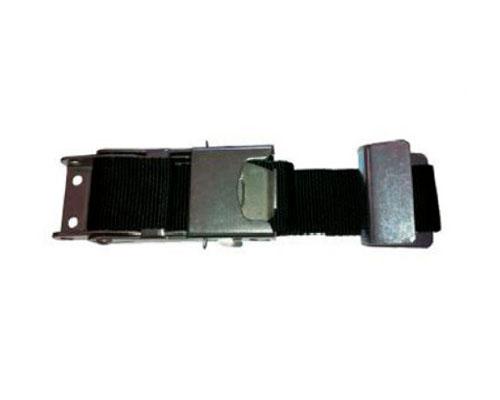 T601095 Tensor de pulsador inox – gancho plano cinc. – cinta de 45×800 mm